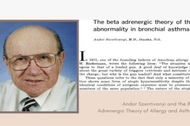 Andor Szentivanyi and the Beta Adrenergic Theory