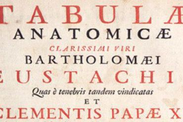 Tabulae anatomicae Bartolomeo Eustachi