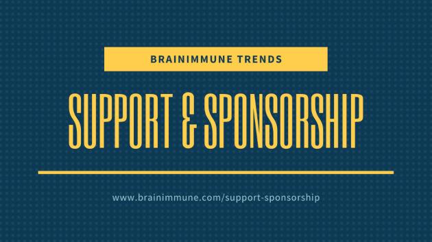 BrainImmune new support sponsorship