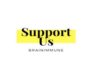 Support Us BrainImmune