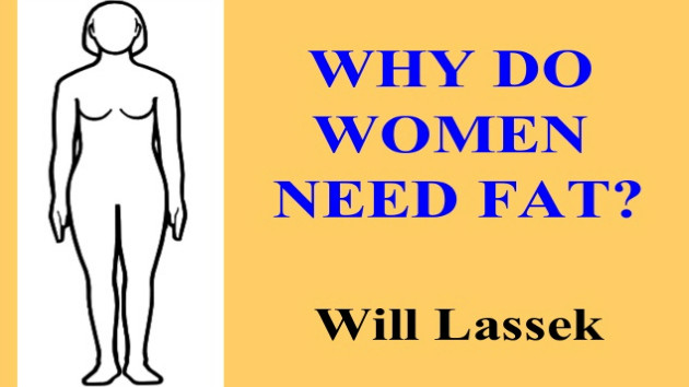 Lasek and why women need fat