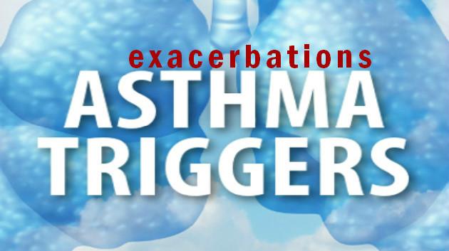 asthma exacerbations