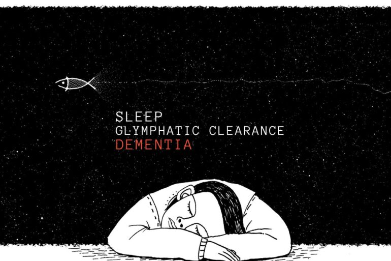 brain glymphatic system sleep dementia